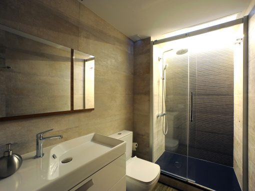 Una cascada de luz en tu ducha