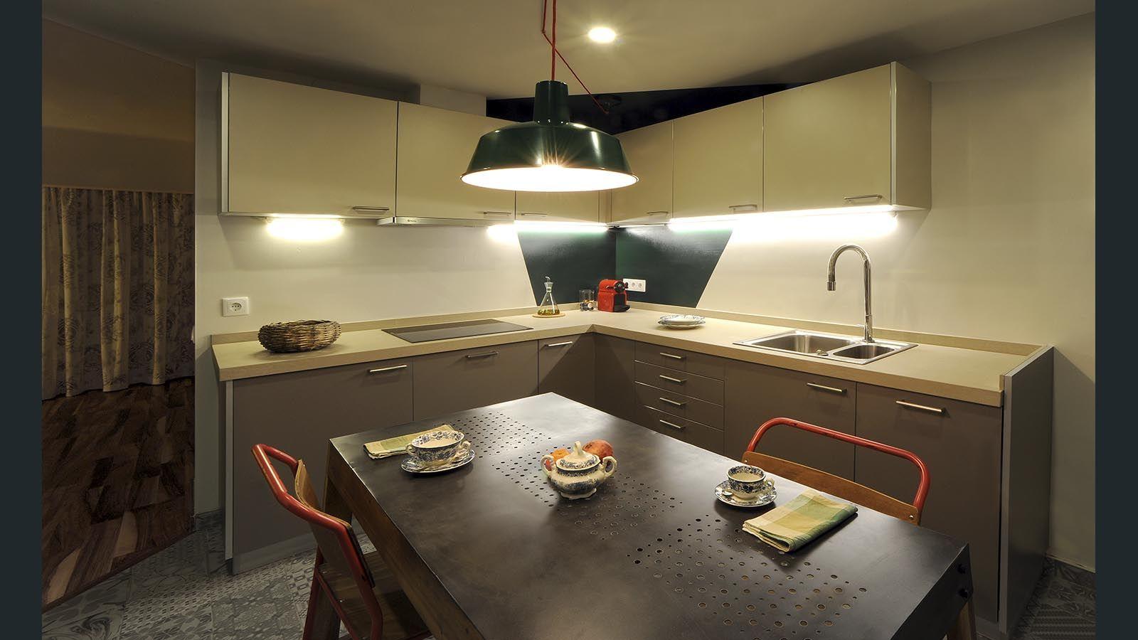 Verde British para una cocina molona
