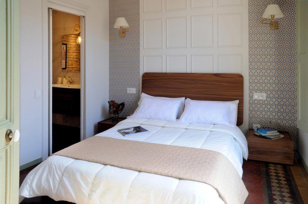 En el dormitorio peque o esta la buena confitura interioristas barcelona decoradores - Decoradores interioristas barcelona ...